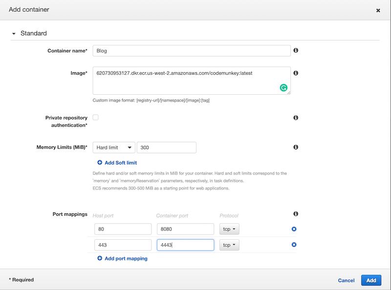 Hosting and Deploying a Blog Using Hugo, Docker and AWS ECS